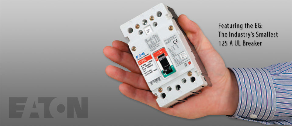 EG: the Industry's Smallest 125 Amp Molded Case Circuit Breaker