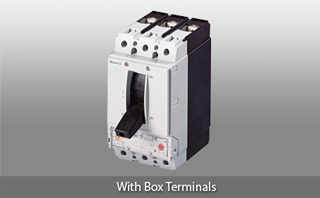 NZM2 Thermomagnetic Adjustable With Box Terminals