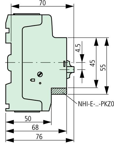 XTPR020BC1 Side Dimensions